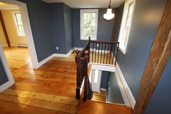 Upstairs: After